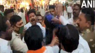 Video: उद्धव ठाकरे की आलोचना करने पर BJP नेता को साड़ी पहनने पर किया था मजबूर, अब 17 शिवसैनिक अरेस्ट