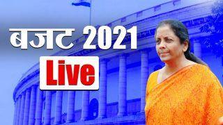 Budget 2021 live Speech in Hindi: निर्मला सीतारमण के बजट में टैक्स स्लैब में नहीं हुआ कोई बदलाव, बुजुर्गों को मिला ये तोहफा