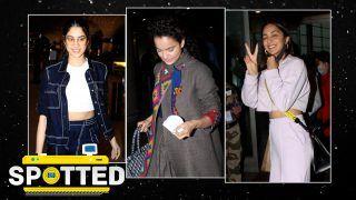 Bollywood Celebrity Spotted: Kartik Aaryan से लेकर Janhvi Kapoor तक, कुछ इस लुक में स्पॉट किए गए बॉलीवुड सेलेब्स