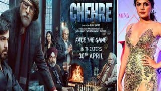 Chehre Release Date Out: Emraan Hashmi-Amitabh Bachchan Starrer To Release in April, But Why is Rhea Chakraborty Missing?