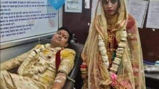 Newly-Wed Couple Donates Blood on Wedding Day to Save Life of Young Girl, Receives Praises Online