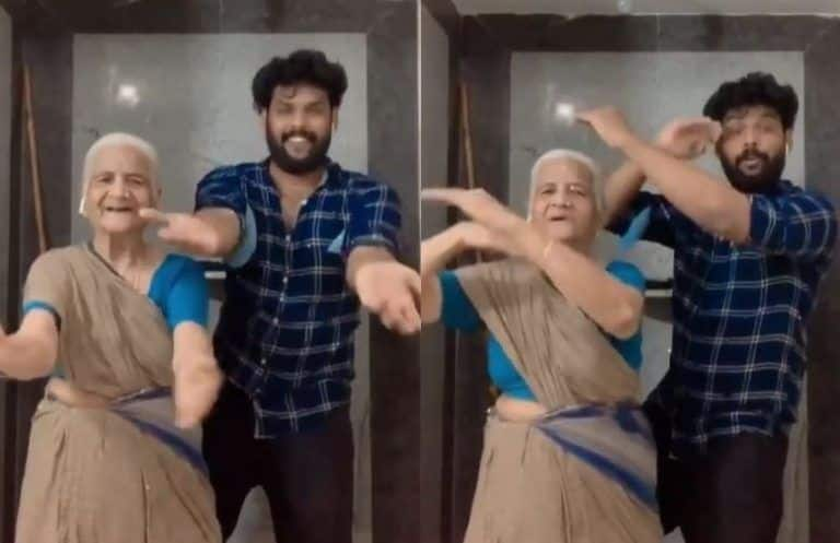 Man Dances With Grandmom on Badshah's Peppy Song 'Top Tucker', Video Goes Viral