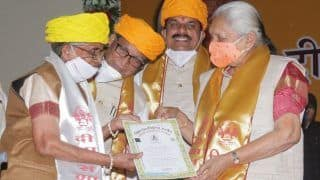 It's Never Too Late: Ujjain Woman Completes PhD in Sanskrit at The Age of 80