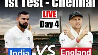 Highlights India vs England 1st Test Chennai: Ashwin Leads IND Fightback with Six-Wicket Haul on Day 4