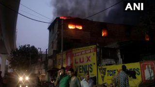 1 Dead After Fire Breaks Out at Factory in Delhi's Pratap Nagar