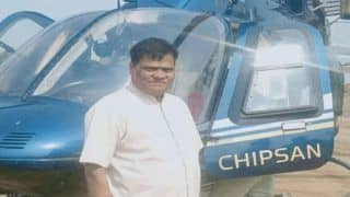 Maharashtra Farmer Buys Helicopter Worth Rs 30 Crore For His Dairy Business, See Pics