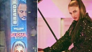 Himanshi Khurana Becomes First Female Punjabi Artist To Feature on New York's Times Square Billboard, Fans Rejoice