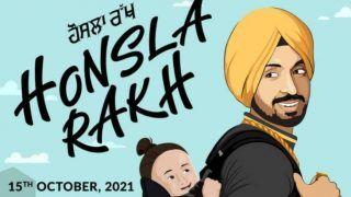 Diljit Dosanjh-Shehnaz Gill फिल्म 'हौसला रख' में साथ आएंगे नजर, रिलीज हुआ पोस्टर...फैंस हुए दिवाने