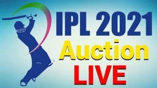 IPL Auction 2021 Live Updates: 292 Players to go Under The Hammer Today