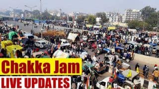 Chakka Jam Updates: Three-Hour Roads Blockade Comes to End, Several Protesters Detained in Delhi