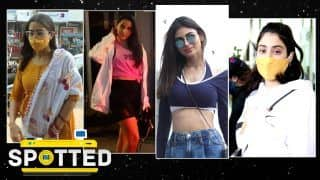 Spotted on February 16, 2021: Sara Ali Khan In Gorgeous Yellow Kurti, Spotted At Jogi Casting| Nora Fatehi & More
