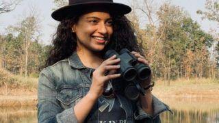 'Dhaakad' की शूटिंग से ब्रेक लेकर जंगल सफारी पर निकली Kangana Ranaut, ऐसे मनाया अपना Valentine's Day...देखें Viral Video