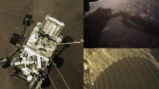 NASA Mars Mission 2021: नासा के रोवर ने मंगल ग्रह से आश्चर्यजनक रंगीन तस्वीर भेजी, सेल्फी भी आई