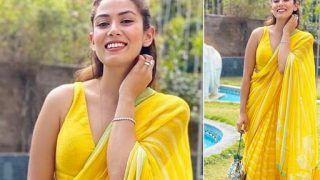 Mira Kapoor, in Rs 35000 Chiffon Saree, Gives us Sunny Summer Vibes - See Pics