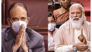 Ghulam Nabi Azad Praises PM Modi, Says