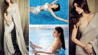 Mouni Roy Sultry Photos: From White Bikini Look To Sequined Saree, Here's How Actor Glams Up Internet