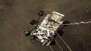 NASA Perseverance Rover Landing Video: नासा ने जारी किया मंगल ग्रह का पहला वीडियो, सुनें हाई डेफिनेशन आवाज
