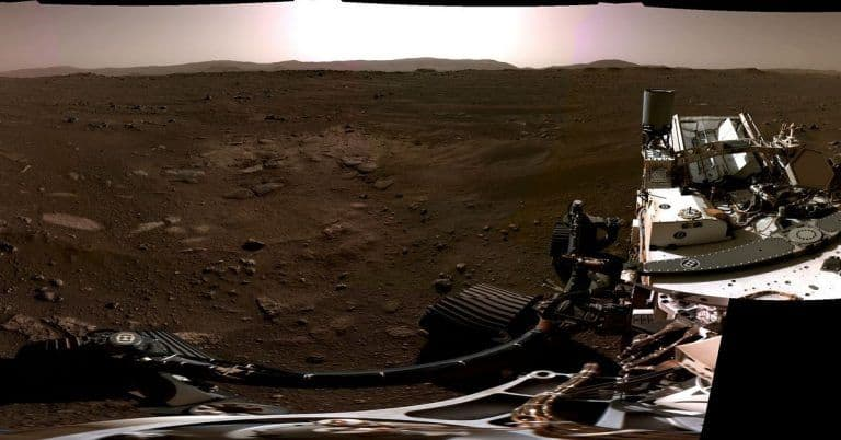 NASA Reveals First Of A Kind Footage Captured by Perseverance Rover During Mars Landing | Watch