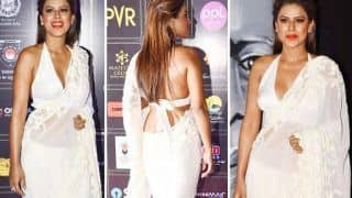 Nia Sharma, in Rs 66000 Sheer Saree, is All Sizzling And Stunning - See Pics