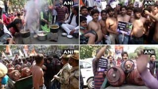 Petrol-diesel Price Hike: राहुल-प्रियंका ने केंद्र पर निशाना साधा, Congress नेता-कार्यकर्ताओं ने किया प्रदर्शन