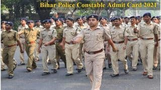 CSBC Bihar Police Constable Admit card 2021 Released, Check Direct Link and Other Details Here