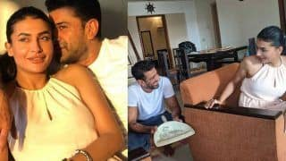 Eijaz Khan- Pavita Punia's Mushy Pictures go Viral, Their Cute Banter is Unmissable: 'Trophy To Mere He Paas Hai'