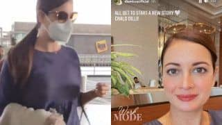 Dia Mirza Ditches Her Honeymoon With Vaibhav Rekhi, Switches Her 'Work Mode' as She Leaves For Delhi