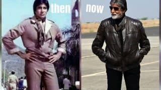 Amitabh Bachchan Gets Emotional as he Completes 52 Years in Bollywood, Thanks Fans For Then And Now Pictures