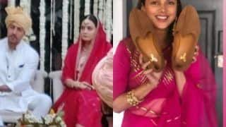 Dia Mirza Wedding: Aditi Rao Hydari Shares Glimpse of 'Joota Chupayi' Ceremony, Teases Groom 'Got Your Back'