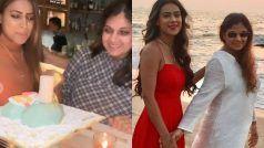 Nia Sharma की मां बर्थडे पर हथौड़े से कर रही हैंकेककी 'पिटाई', अंदाज़ देख लोग परेशान- See Viral Video