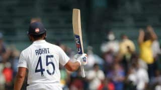 Rohit Sharma Slams 7th Test Century in 2nd Test Against England
