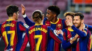 Lionel Messi Scores Brace as Barcelona Beat Alaves 5-1 to Extend Their Winning Streak in La Liga
