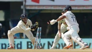 2nd Test: Twitterverse Hails Birthday Boy Ben Foakes For His 'Lightening Quick' Stumping to Dismiss Rohit Sharma and Rishabh Pant | WATCH
