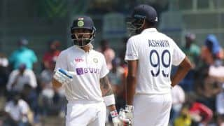 IND vs ENG 2nd Test Day 3 Lunch: Virat Kohli, Ravichandran Ashwin Stretch India's Lead to 351 Despite Middle-Order Collapse