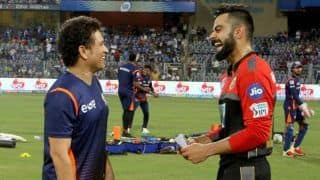 Sachin Tendulkar Proud of Virat Kohli For Opening up on Battle Against Depression