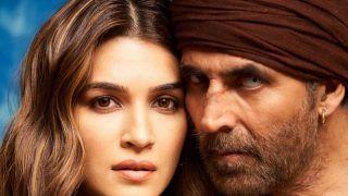 Kriti Sanon First Look From Bachchan Pandey: फिल्म 'बच्चन पांडे' से कृति सेनन का पोस्टर रिलीज, होगा धमाका