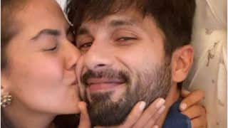 Mira Rajput Gives a Tight Kiss to Shahid Kapoor in New Photo - See The Viral Picture