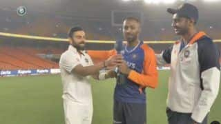 Virat Kohli's Special Cameo With Gujarati Twist Leaves Axar Patel And Hardik Pandya in Splits | Watch Video
