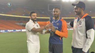 Virat Kohli's Special Cameo With Gujarati Twist Leaves Axar Patel And Hardik Pandya in Splits | Watch Video