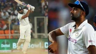 ICC Test Rankings: Rohit Attains Career-Best 6th Spot in Batsmen's Chart; Ashwin Climbs to 3rd in Bowlers' Tally
