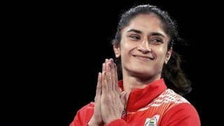 Vinesh Phogat Clinches Gold in Kiev Tournament With 10-8 Win Over V Kaladzinskay