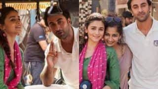Lovebirds Ranbir Kapoor-Alia Bhatt Shoot For an Ad, Pictures Take Internet By Storm
