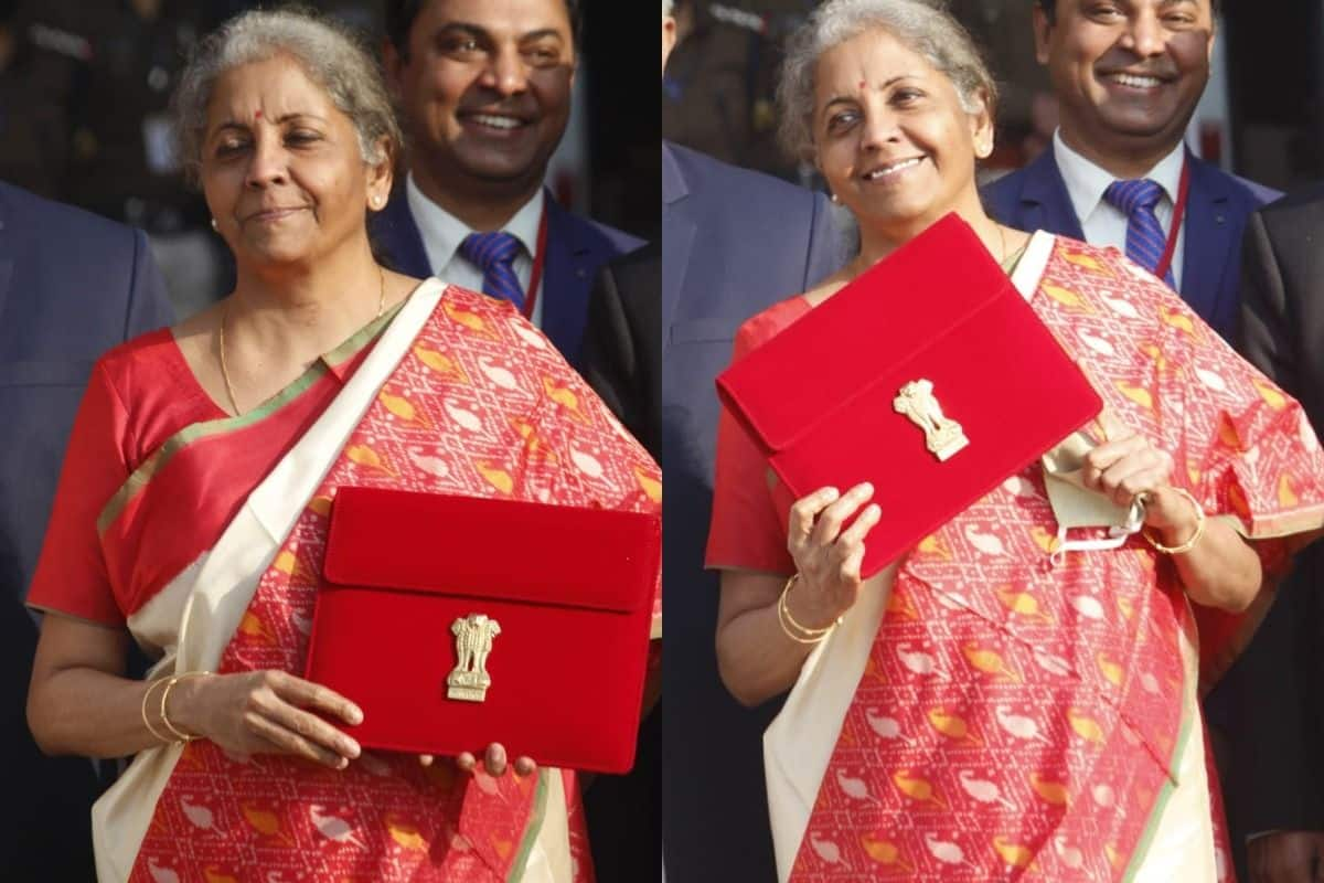 Why Did Nirmala Sitharaman Wear a Red Saree to Present Budget 2021 - Read on