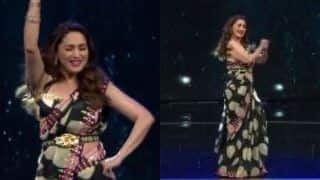 Madhuri Dixit Dances To 'Naino Mein Sapna' on Dance Deewane 3, Video Goes Viral | WATCH