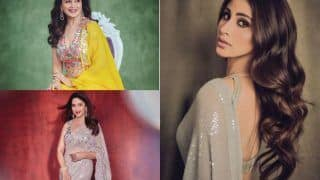 Madhuri Dixit Shares Stunning Pictures in Sunshine Yellow Lehenga, Mouni Roy Calls Her 'Goddess of Love'