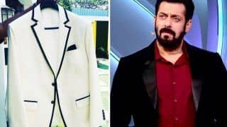Salman Khan Looks Dapper in a Monochrome Suit For Bigg Boss 14 Grand Finale