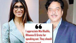 Shatrughan Sinha 'Appreciates' Mia Khalifa For Her Tweet Over Farmers' Protest, Talks About Sonakshi Sinha