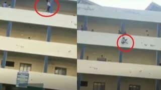 Punjab Student Jumps off Fourth Floor of University Building on Being Suspended for Seeking Leave, Video Goes Viral
