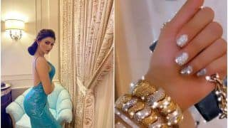 Urvashi Rautela's Rs 70 Lakh Bracelets Are Making us Laugh at Our Bank Accounts