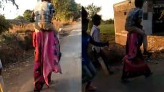 Woman Shamed Over 'Affair', Forced to Carry Ex-husband's Brother on Shoulders for 3 km | Watch